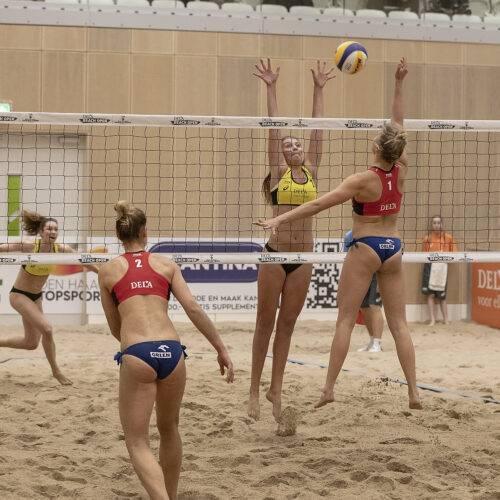 Dela Beach Open 2019 Olsen/Bisgaard (DEN) vs Gruszczynska/Gromadowska (POL)
